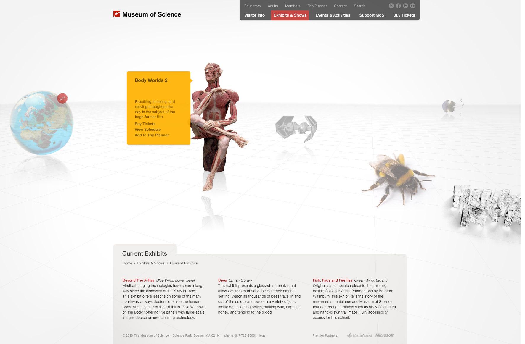 Museum of Science, Boston - Gary Pikovsky ______ Creative Direction &  Design.